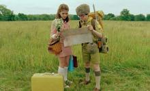 "Suzy (Kara Hayward) and Sam (Jared Gilman) in ""Moonrise Kingdom."""
