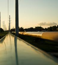 Oil pipeline in Jefferson Co, Texas. Via Wylio http://bit.ly/wslb1w