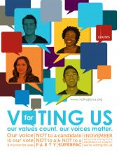Voting for Us, Sojourners
