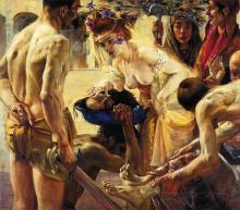 """Salome, Second Version"" by the German painter Lovis Corinth (1858-1925)"