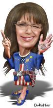 """Sarah Palin, Public Speaker."" By DonkeyHotey via Wylio (http://bit.ly/vkaaOW)"