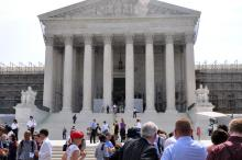 Supreme Court, Ivone Guillen / Sojourners