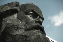 Photo: Karl Marx monument in Germany, e2dan / Shutterstock.com