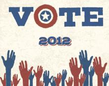 Retro vote poster, pashabo / Shutterstock.com