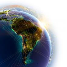 Earth interconnectedness illustration, Anton Balazh / Shutterstock.com