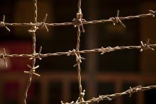 Concept of detention center. Image via Matt Ragen/shutterstock.com