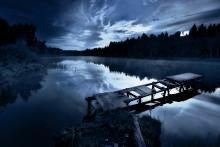 Morning on the lake. Image courtesy kosmos111/shutterstock.com