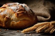 Fresh homemade bread. Image courtesy Symbiot/shutterstock.com.