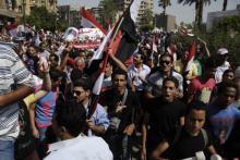 Egyptian protestors on June 30, Mohamed Elsayyed / Shutterstock.com