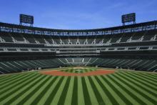 Baseball stadium photo, Margie Hurwich / Shutterstock.com