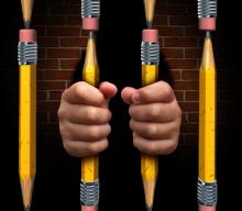 School-to-prison pipeline illustration, Lightspring / Shutterstock.com