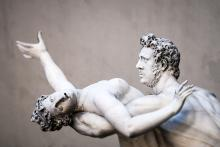 The rape of the Sabine women, Florence Italy. Image courtesy Markus Gann/shutter