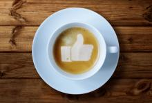 Facebook like in a coffee cup, Brian A Jackson / Shutterstock.com