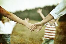Caring hands illustration, Zurijeta / Shutterstock.com