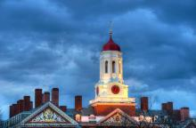 Dunster House White Tower and Red Dome at Harvard, Jorge Salcedo / Shutterstock.
