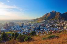 Dawn in Cape Town. Image courtesy Denis Mironov/shutterstock.com