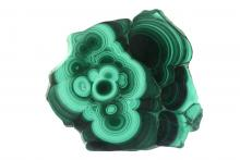 Malachite from Congo. Image courtesy Albert Russ/shutterstock.com