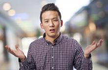 Young man doubting, Asier Romero / Shutterstock.com