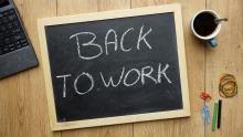 Chalkboard for work. Image courtesy Brt/shutterstock.com