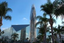 The Crystal Cathedral. Image via Bobby Deal / RealDealPhoto/Shutterstock.com