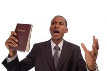 Preacher photo, Dennis Owusu-Ansah / Shutterstock.com