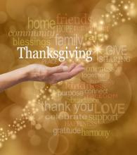 Thankfulness. Image courtesy Nikki Zalewski/shutterstock.com