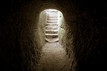 An empty tomb. Image via ehrlif/shutterstock.com