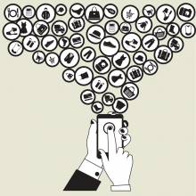 Online shopping illustration, Fotinia / Shutterstock.com