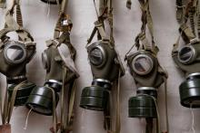 Gas masks of World War II. Image via RNS/shutterstock.com