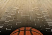 NCAA tournament bracket illustration,  Brocreative / Shutterstock.com