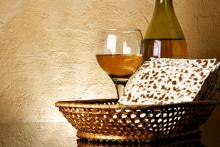 Wine and Matzoh, Roman Sigaev/Shutterstock.com