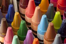 Photo: Crayons, © Judy Kennamer / Shutterstock.com