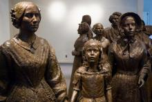Women's Rights National Historic Park statues, Zack Frank / Shutterstock.com