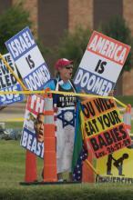 Westboro Baptist Protestors, Samuel Perry / Shutterstock.com