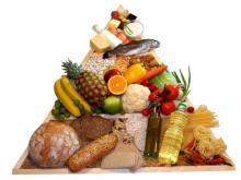 Healthy food pyramid, Bogdan Wankowicz / Shutterstock.com