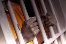 Hands behind bars, Dan Bannister / Shutterstock.com