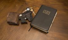 Keys, a Bible, and a gun. Image courtesy Jorge R. Gonzalez/shutterstock.com.
