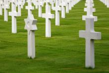 Interfaith grave markers, cofkocof, Shutterstock.com