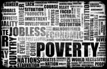 Poverty background, kentoh / Shutterstock.com