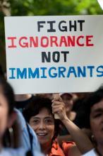 Immigration reform rally, Ryan Rodrick Beiler / Shutterstock.com