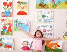 Child in art class, Poznyakov, Shutterstock.com