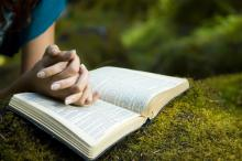 Photo: Woman reading Bible, © Jacob Gregory / Shutterstock.com