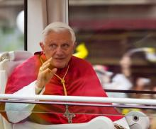 Pope Benedict XVI photo by Natursports / Shutterstock.com