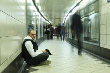 Young man in subway photo, PashOK / Shutterstock.com
