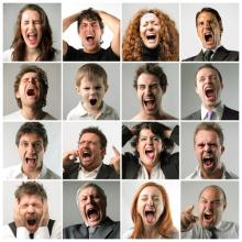 People yelling, olly / Shutterstock.com