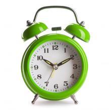 Green alarm clock, Alex Staroseltsev / Shutterstock.com