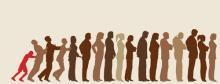 Waiting in line, Robert Adrian Hillman / Shutterstock.com