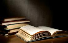 Stack of classic books, sergign / Shutterstock.com