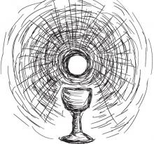 Host and chalice image, robodread / Shutterstock.com
