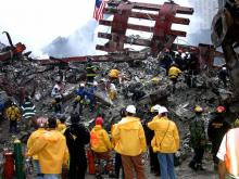 Ground Zero on Sept. 20, 2001.